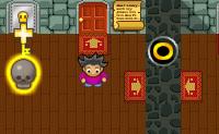 Guie o Hector ao longo destes puzzles do Quarto Vermelho da Mansão Fantasma.