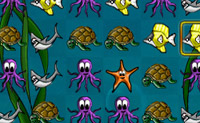 Forme grupos de 3 ou mais animais da mesma cor, mudando-os de lugar.