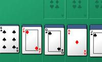 Forme sequências ordenadas de cartas do Ás para o Rei, arrastando-as.