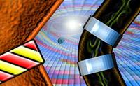 Guie este OVNI pelo labirinto, recolha os objectos e descubra o planeta roxo.