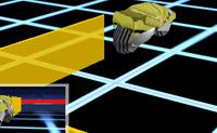 SWORN, a divertida versão 3D de TRON, é um vertiginoso jogo com três motos. Tenta conduzir a tua moto amarela o mais longe possível, sem tocar ou ultrapassar as fronteiras criadas pelos teus oponentes. Tenta forçar os teus oponentes a cruzar as linhas que crias: nesse caso, o jogo acaba para eles! Boa sorte!