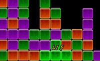 Clique em grupos de 3 ou mais blocos da mesma cor para os remover do ecrã.