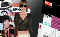 Ajude esta modelo a comprar as roupas mais fashion