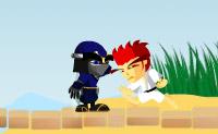 Luta contra outros ninjas e passa assim todos os níveis!