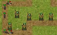 Construa torres em posi��es estrat�gicas e tente abater todos os seus inimigos.