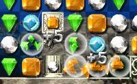 Resolva o mistério trocando 2 jóias de lugar.