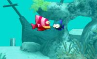 Tenta comer os peixes pequeninos e vê se não comes os peixes grandes!