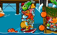 Para quê pescar à moda antiga, quando pode usar dinamite?