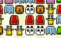 Tenta colocar três animais iguais numa linha trocando os animais de lugar. Quantas mais séries de três fizeres, mais tempo ganhas para jogar no nível.