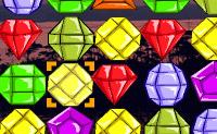 Movimente as j�ias por forma a juntar 3 ou mais da mesma forma e cor!