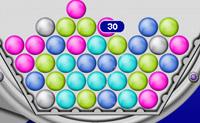Clique em grupos de 3 ou mais bolas da mesma cor!