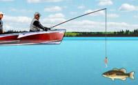 Em Bass Fishing Pro poderás relaxar-te dano voltas em tua lancha e pescando em um lago tranquilo. A tua tarefa é pescar a quantidade e a qualidade de peixes correspondentes à cada fase. Terás que ser bom com o teu anzol.