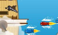 Pirate Blast é um divertido jogo de habilidade onde terás que defender o teu barco pirata do ataque de endiabrados projécteis coloridos. Terás que primar as teclas correspondentes às cores para salvares o teu navio.