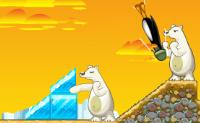 Liberta os pinguins enjaulados! No início de cada nível tens de atirar os pinguins por um túnel. O número de pinguins que lançaste com sucesso determina com quantos pinguins podes atacar os ursos polares e mergulhar para eles. No canto superior direito, podes ver quantos ursos tens de atingir. Se falhares, o jogo acaba.