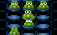 Faça saltar todos os Blobs até que reste apenas um!