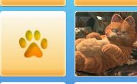 Joga um divertido jogo de memória online com imagens de um filme do Garfield. O princípio deste jogo é presumivelmente muito claro: procura duas imagens iguais.