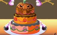 Ajuda a Saquita a surpreender os seus amigos com o mais belo bolo de Noite das Bruxas de sempre!