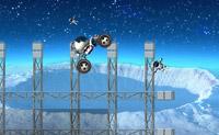 Tenta levar todos os astronautas ao final conduzindo-os pelas colinas em segurança.