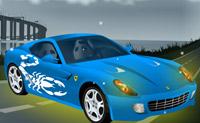 Enfeita este Ferrari 599 GTB Fiorano para que possa conduzir com orgulho na auto-estrada