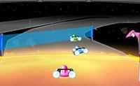 Tenta acabar em primeiro nesta corrida no espaço, mas tem cuidado para não saíres da rota!