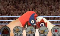 Tenta bater os teus oponentes nesta luta de polegares.