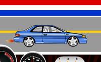 Tenta ser o primeiro a atravessar a linha de meta nesta corrida. Se ganhares duas vezes seguidas podes escolher um carro mais rápido. Tem cuidado para não meteres as mudanças muito tarde ou o motor explode.