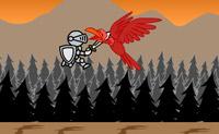 Tenta fugir do dragão. Salta sobre todos os tipos de obstáculos ao longo do caminho e bate os inimigos que se atravessam à tua frente.