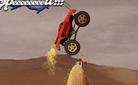Tenta contornar os obstáculos com o teu camião e atingir a linha de meta.
