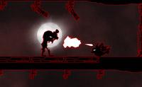 Neste jogo, tenta evitar os monstros passem de uma porta para outra. Podes fazer isto construindo obstáculos ao longo do caminho, tal como veneno e pregos ou compra uma arma para poderes abater os monstros.