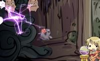 Conquista todos os fantasmas com electricidade est�tica antes que eles se cheguem a ti.