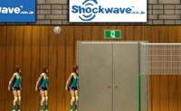 Tenta chegar o mais longe possível nesta competição de voleibol.