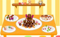 Faz as melhores tartes e doces. � uma pena que n�o as possas comer.