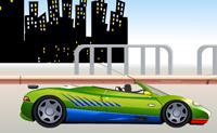 Tenta fazer o melhor e mais rápido super-carro e tenta ganhar a corrida.