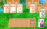 Tenta libertar os castelos nesta variante do Solitário. Faz isto limpando todas as cartas no campo de jogo.