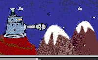 O que é que pode ser mais divertido do que uma luta de bolas de neve no Inverno? Se fores atingido 15 vezes, morres.