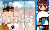 Escolhe um puzzle e tenta acabá-lo dentro do tempo. As peças do puzzle também pode estar de pernas para o ar.