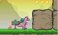 Descobre, junto com estes dois dinossauros, todos os ovos nesta caverna. Tenta pássaros obstáculos trabalhando em conjunto.