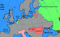 Sabes onde estão situados os países da Europa? Arrasta os países para o local correcto e vê a pontuação no fim do jogo