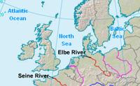 Sabes onde se situamos rios da Europa? Clica no rio pedido e vê a tua pontuação no fim do jogo.