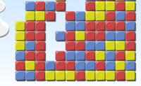 Tenta esvaziar todo o campo de jogo! Apenas podes jogar com blocos que estão ao pé de pelo menos dois blocos da mesma cor. Mais à frente no jogo é suficiente que 1 bloco tenha apenas outro da mesma cor ao pé.