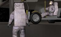Vem jogar online e conhece novos amigos na Lua! Há diversos carrinhos lunares à tua espera, permitindo-te mover um pouco mais rápido. Olha para a Terra de uma perspectiva completamente diferente!