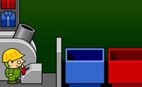Arruma todas as encomendas metendo-as no contentor correcto. Se tiveres arrumado o número indicado (ou mais) de encomendas, passas ao próximo nível.