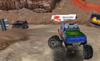 Acelere ao volante de um potente camião e vença a corrida.