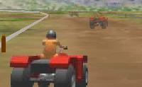 Este é um jogo engraçado e desafiante de moto-quatro. Tenta vencer apanhando turbos e armas.