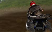 Este é um jogo engraçado e desafiante de moto-quatro. Quando te despistas tens muitos danos, por isso, tenta manter-te a conduzir a direito na estrada.