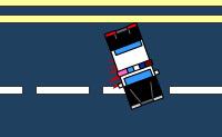 Este é um jogo de carros sangrento. Tenta atropelar o maior número de pessoas possível que atravessa a estrada.