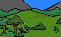 Com a ajuda do teu ex�rcito tenta derrotar todos os Orcs que encontras pelo caminho. Tenta conquistar todo o territ�rio.