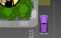 Vais ter aulas de condução. Faz o que o examinador diz e assim obténs a tua carta de condução. Tenta estacionar correctamente, senão o examinador fica zangado.