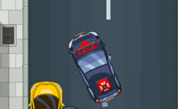 Vais ter aulas de condução. Faz o que o examinador diz e assim obténs a tua carta de condução. Estaciona correctamente sem falhas,  senão o examinador fica zangado.