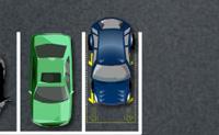 Tenta estacionar o carro antes que o tempo esgote sem causar muitos estragos.